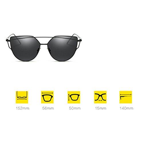 Couleurs Soleil Lunettes Colorées Metal 12 Soleil Multiples Lunettes Femmes Femmes pour YANJING Cat de Fashion Eye ZYXCC Jelly de Sunglasses Sunglasses pour UnqwfzXEz
