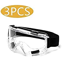 HengYan 3 Pares de Gafas, Gafas antivirus, Gafas de Gran Angular