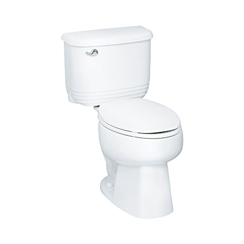 Sterling 402084-U-0 Riverton 12-Inch Elongated Toilet with Insulated Tank, White