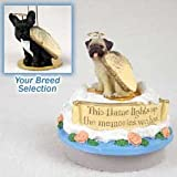 Conversation Concepts Miniature French Bulldog Candle Topper Tiny One Pet Angel Ornament