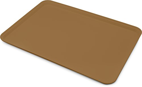 - Carlisle 1318FG97005 Fiberglass Glasteel Solid Display/Bakery Tray, 17.75 x 12.75