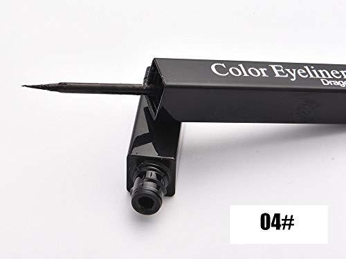 Colorful White Red Blue Liquid Eyeliner Pen Waterproof Long Lasting Essentials Eyeliner Contour 04