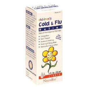 Natra Bio - Children's Cold & Flu, 1 fl oz liquid