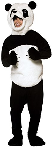 UHC Panda Bear Mascot Funny Animal Theme Outfit Halloween Fancy Costume, OS -