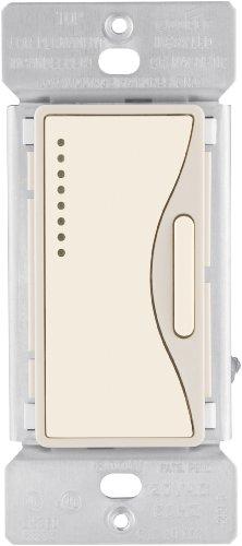 Eaton 9542DS-K 120-Volt, 60-Hertz ASPIRE Multi-Location Accessory Dimmer with Preset and LED, Desert Sand