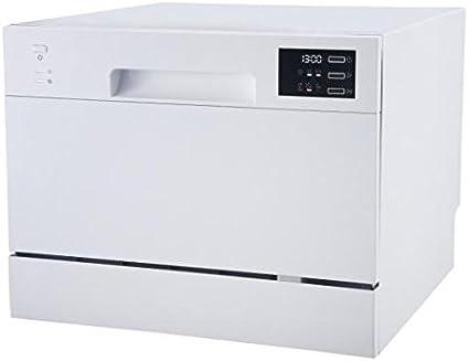 Teka   Lavavajillas Compacto   45 cm de Ancho   6 Programas de lavado   6 Temperaturas   Acabado en Blanco: 224.15: Amazon.es: Grandes electrodomésticos