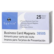 Business Card Magnets, 3-1/2
