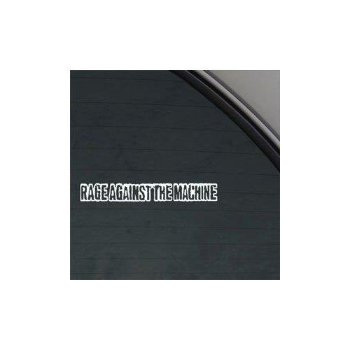 Rage Against The Machine Band White Color Window Vinyl Decor Auto Car Wall Art Car Art Adhesive Vinyl Laptop Notebook Die Cut Bike Macbook Home Decor Wall Decoration Decal Sticker (Rage Against The Machine Decal compare prices)