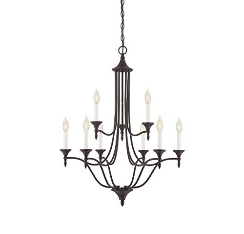 (Savoy House 1-1009-9-13 Herndon 9-Light Chandelier, English Bronze Finish)