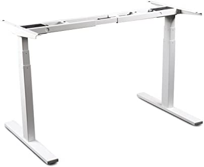 Cheap VWINDESK VJ201-S3 Electric Height Adjustable Sitting Standing Desk Frame Only/Sit Stand home office desk for sale
