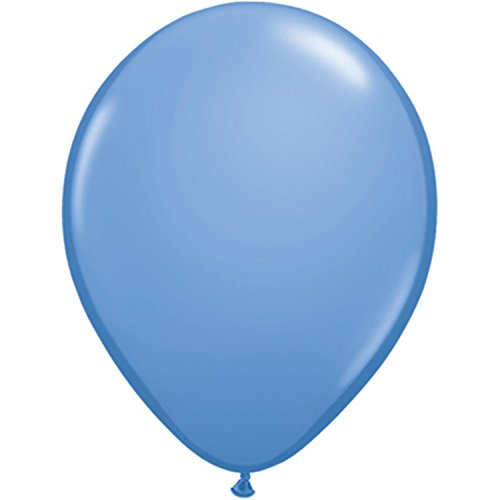 (Qualatex 11 Inch Round Plain Latex Balloons (100 Pack) (One Size) (Periwinkle))