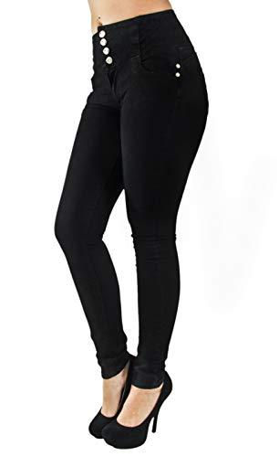 Butt Lift, Levanta Cola, High Elastic Waist, Skinny Jeans in Black Size 9