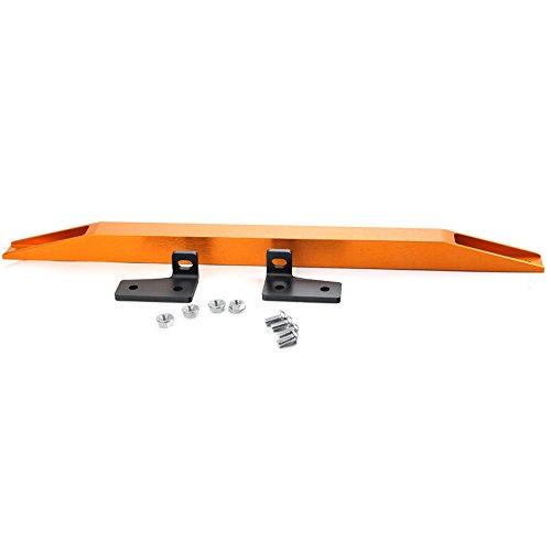 [Rear Aluminum Sub Frame Connector Tie Bar Brace For 96-00 Honda Civic EK] (Subframe Connector Brace)