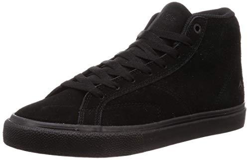 Emerica Men's OMEN HI Skate Shoe, Black/Gum, 10.0 Medium US