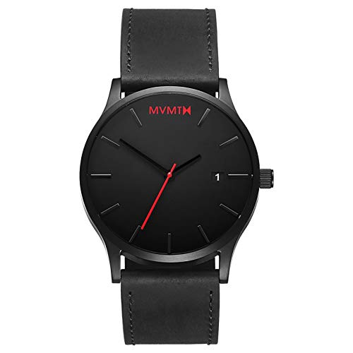 MVMT Men's Minimalist Vintage Watch with Analog Date 1