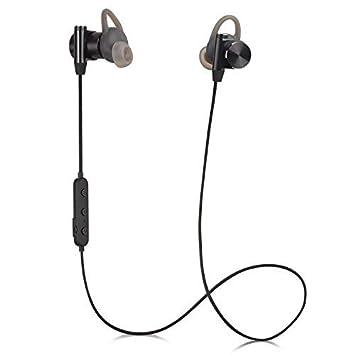 CM-7 Pro Auriculares inalámbricos Bluetooth,IPX67 Resistentes al Agua APTX Auriculares Cancelación de Ruido con magnético adecuados para Deporte Carrera ...