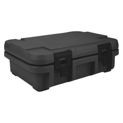 ackable Top Loading S-Series Ultra Pan Carriers, 12.3 Quart, Polypropylene, Black, NSF ()