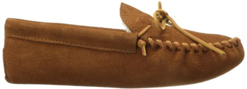 Minnetonka 763 Traditional Pile Lined - Zapatillas de estar por casa Hombre Marrón (Brown)