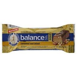 Nut Balance Caramel Bar Blast (Balance Bar Gold Bar Carmel Nut Blast 1.76 Oz)