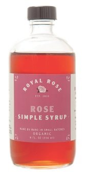 Royal Rose, Simple Syrup Rose Organic, 8 Ounce