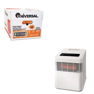 KITHWLHZ970UNV21200 - Value Kit - Honeywell Energy Smart HZ-970 Infrared Heater (HWLHZ970) and Universal Copy Paper (UNV21200)