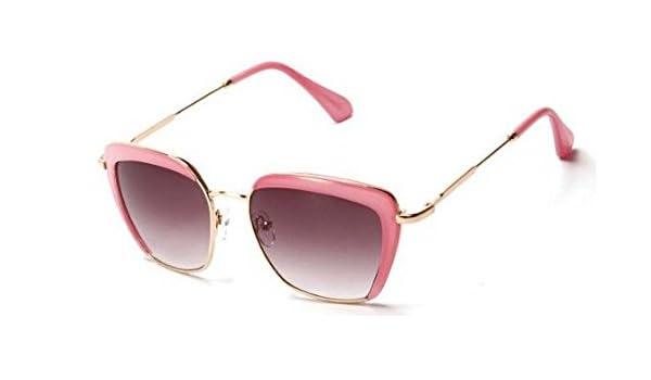 yirone (TM) elegante dama de gran marco Gafas de sol metal ...