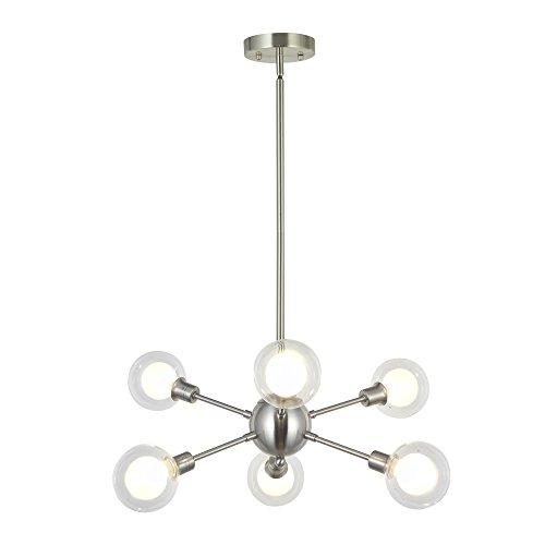 Nickel Pendant Lighting Kitchen in US - 4