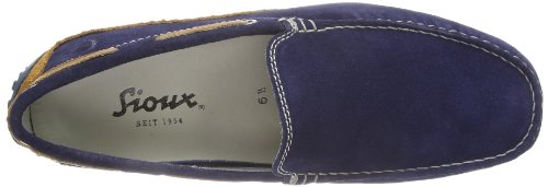 Sioux Men's Cabir Loafers Bleu - Blau (Indaco/Ocra) jHyxT747m