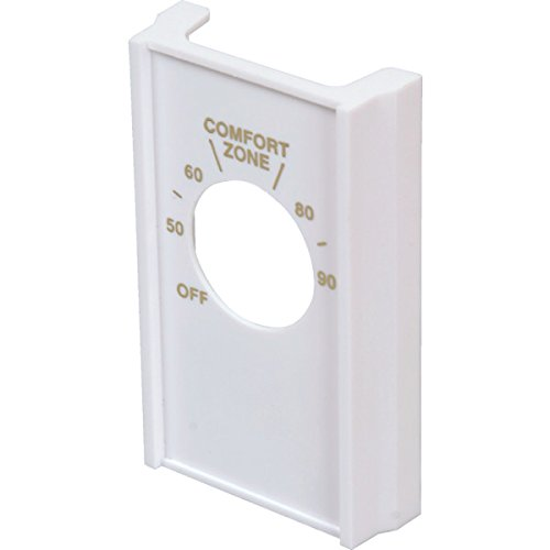 Double Pole Line - White Double Pole Line Volt Thermostat Cover For Old Style D22 - HVAC