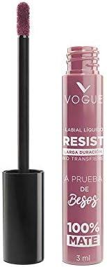 Vogue Labial liquido larga duracion resist vogue, tono encantadora