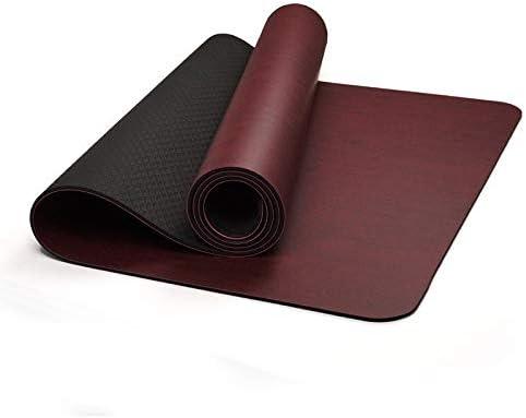 Yoga mat 男性と女性専門の肥厚はロングPUヨガスタジオヨガマットジム初心者ヨガマットを広がりました workout