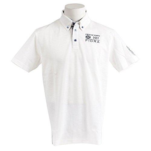 ディレイ雨の犯人フィドラ(フィドラ) 半袖ボタンダウンポロシャツ FDA0316-WHT (ホワイト/LL/Men's)