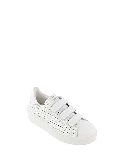 Schuhe Deportivo Velcros Blanco W Blanc