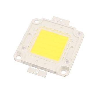 Amazon.com: eDealMax 27-30V 50W viruta del LED bulbo Blanco ...