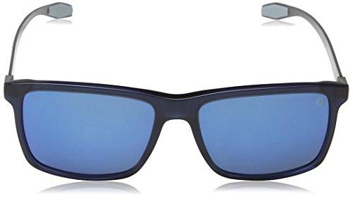 MOMO Design, Lunettes de Soleil Homme Blue (Rubberized Transp Blue)