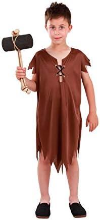 DISBACANAL Disfraz de troglodita Pablo Infantil - -, 6 años ...
