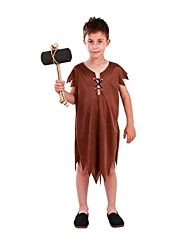 DISBACANAL Disfraz de troglodita Pablo Infantil - -, 10 años ...