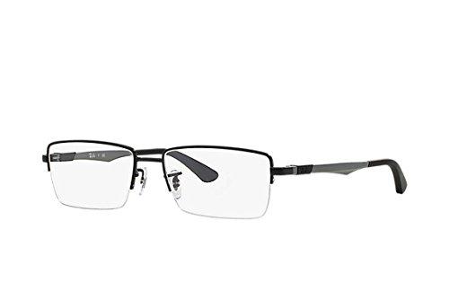RAY BAN Monture lunettes de vue RX 6263 2503 Noir mat 53MM