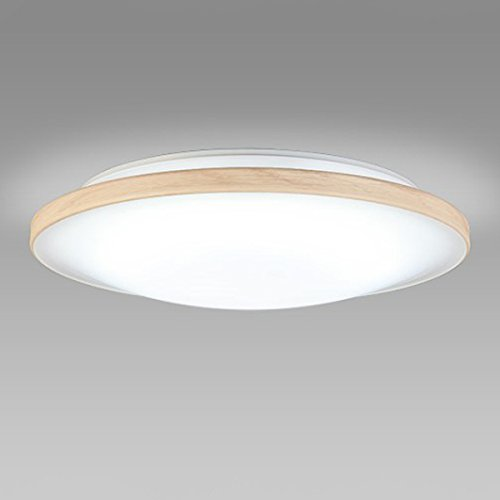 NECライティング LEDシーリングライト 木目調モール 昼白色 8畳 SLDZB08563N B019DOGUA2