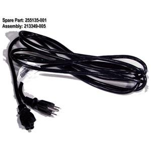 Compaq Armada M300 Part - Compaq 10Ft Power cable Armada Notebooks 1500C 1750 3500 7400 E500 M300 M700 etc - Refurbished - 255135-001