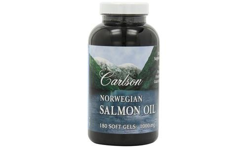 Carlson Norwegian Salmon 1000mg Softgels