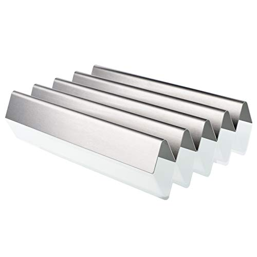 QuliMetal 7537, 16 Gauge, 22.5 inches Stainless Steel Flavor Bars for Weber Spirit 300 Series Gas Grills