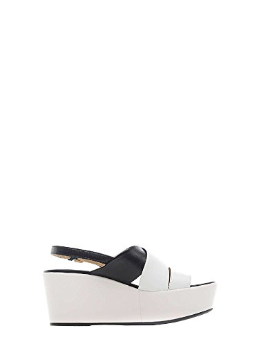 Geox D724VB 00085 Wedge Sandals Women White