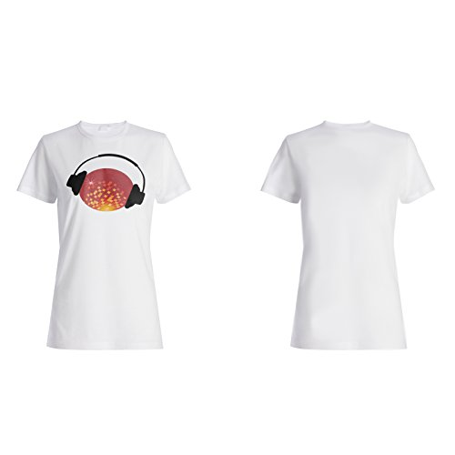Musik-Tanz singen lustige Neuheit-Kunst Damen T-shirt c615f