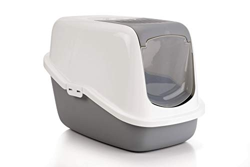 🥇 Lixit Animal Care Savic Toilet Home Nestor Cat Litter Box