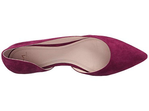 Marc Fisher LTD Women's Sunny4 Pointed Toe Flat Dark Pink Suede cheap sneakernews free shipping 2014 unisex shopping online for sale obpbNJdSE