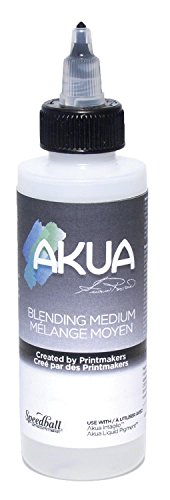 Akua Blending Medium for Liquid Pigment and Intaglio Inks, 4 oz. Bottle, Clear (AK2M) by Akua