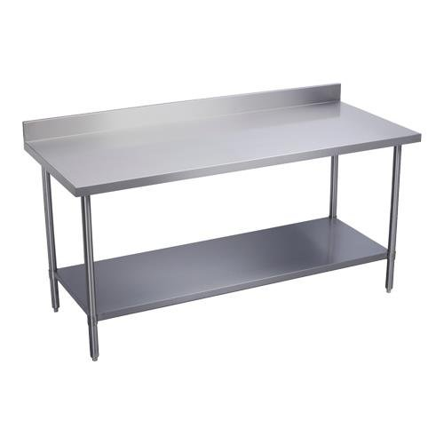 Elkay Foodservice Chefs Choice Work Table X OA Working - 16 gauge stainless steel work table