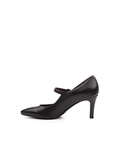 Melluso Shoe Heel Decolletè Leather - Sl-0000013352066-p - Negro, 36, Mujer