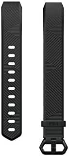Fitbit Alta HR and Alta Classic Accessory Band, Black, Small